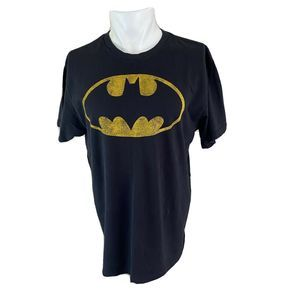 DC Comics Classic Batman Logo T-Shirt Men's Large